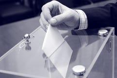 Abstimmung, Wahlen stockfotografie