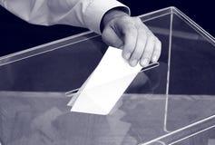 Abstimmung, Wahlen lizenzfreies stockbild