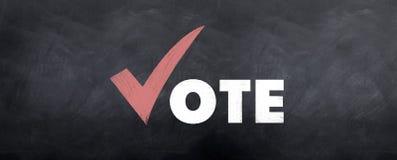Abstimmung Yeah lizenzfreie abbildung