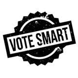 Abstimmungs-Smart-Stempel stock abbildung