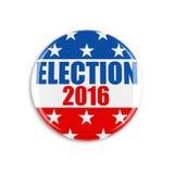 Abstimmungsknopf 3d USA Stockbild