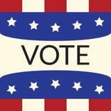 Abstimmungskonzept durch Abstimmung der Art kennzeichnen USA Stockfoto