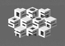 Abstração arquitetónica Imagem de Stock