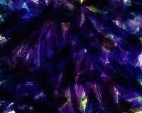 Abstração artística em cores magentas escuras creatividade ilustração do vetor