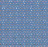Abstração azul do triângulo do tijolo do hexágono Imagem de Stock Royalty Free