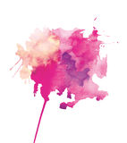 Abstração da aquarela Imagem de Stock