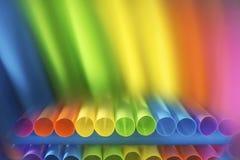 Abstração da escala de cor dos tubos de cor verticais, espectro do arco-íris Foto de Stock