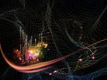 Abstração da tecnologia Foto de Stock Royalty Free