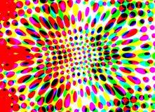 Abstração das cores Ilustração, fundo ilustração stock
