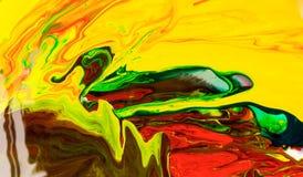 Abstração de uma pintura Foto de Stock Royalty Free