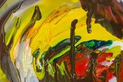 Abstração de uma pintura Fotografia de Stock Royalty Free