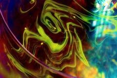 Abstração de uma pintura Fotos de Stock Royalty Free