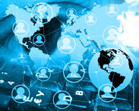 Abstração 04.07.13 do Internet Imagens de Stock