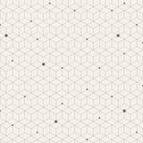 Abstração do teste padrão sem emenda do vetor do pentagon À moda moderno Fotos de Stock Royalty Free