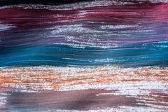 Abstração para o fundo, linhas de tiragem com quadro diferente das cores em geral foto de stock