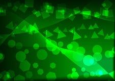 Abstração verde Foto de Stock Royalty Free
