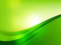 Abstra background green curve and layed element vector illustrat Royalty Free Stock Photos
