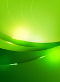 Abstra background green curve and layed element vector illustrat Stock Photo