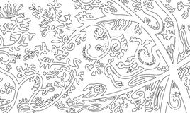 Abstra da ilustração do fundo ilustração royalty free