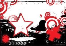 Abstra grunge design Stock Image