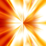 Abstrabstract explosion. Abstract explosion on a bright red background royalty free illustration