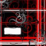 Abstracção com redemoinhos Fotografia de Stock