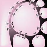 Abstracção cor-de-rosa Imagem de Stock Royalty Free