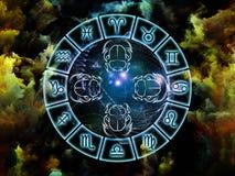 Abstracção da astrologia Imagem de Stock Royalty Free