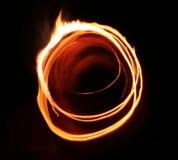 Abstracção da luz da flama da estrela Imagem de Stock Royalty Free