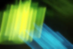 Abstracção de néon Fotografia de Stock