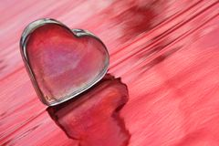 Abstracção do amor Foto de Stock