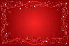 Abstracção do amor do coração Foto de Stock