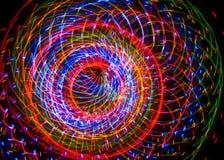 Abstracção do diodo emissor de luz Fotos de Stock