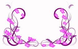 Abstracção do Lilac Fotografia de Stock Royalty Free