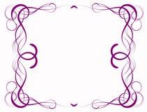 Abstracção do Lilac Fotografia de Stock