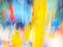 Abstracção do movimento Fotografia de Stock Royalty Free