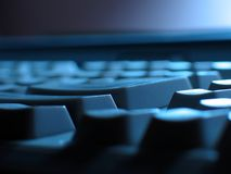 Abstracção do teclado Fotografia de Stock
