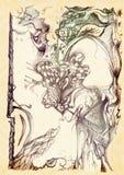 Abstracção elegante ilustração do vetor