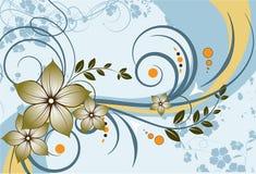 Abstracção floral. Imagem de Stock Royalty Free