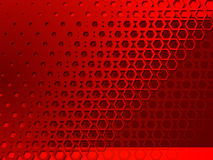 Abstracção geométrica vermelha do fundo Imagem de Stock Royalty Free