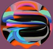 Abstracção interior gráfico Pintura Sumário Arte retrato Projeto ilustração royalty free