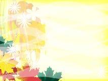 Abstracção solar Fotografia de Stock Royalty Free