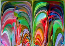 Abstracção Sumário Pintura retrato Textura textured uniqueness abstractions sumários texturas colorido cores Grap Foto de Stock