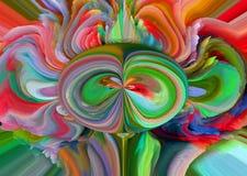 Abstracção Sumário Pintura retrato Textura textured uniqueness abstractions sumários texturas colorido cores Grap Fotografia de Stock