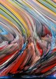 Abstracção Sumário Pintura retrato Textura textured uniqueness abstractions sumários texturas colorido cores Grap ilustração do vetor