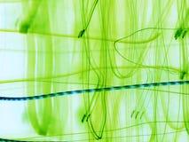 Abstracção verde Imagem de Stock