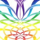 Abstracção violeta Fotografia de Stock