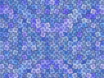 Abstrac background. Squares, blue,  design Stock Images