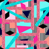 Abstrac nahtloses Muster Lizenzfreies Stockbild