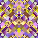 Abstrac nahtloses Muster Stockfotografie